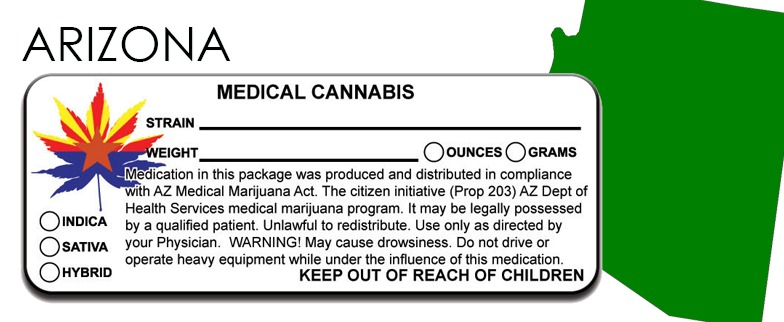 Arizona -State Law-Marijuana-Packaging