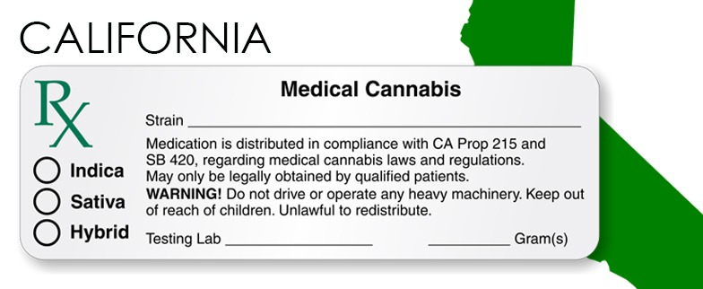 California Marijuana Packaging And Labeling State Law Royal Supply