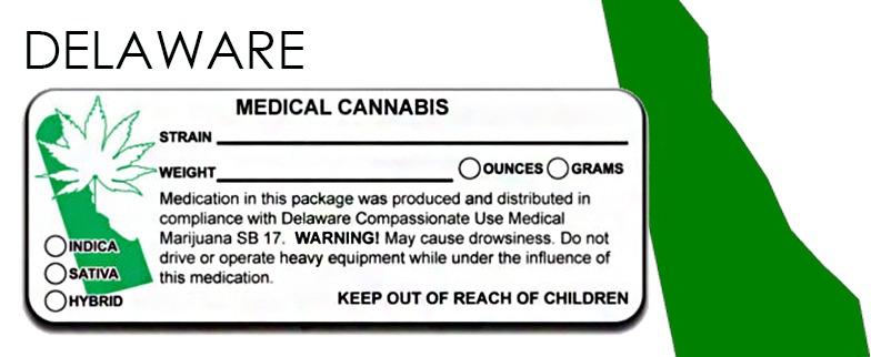 Delaware - State Law-Marijuana-Packaging