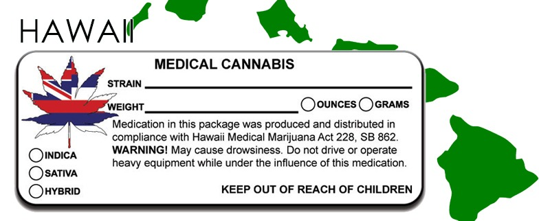 Hawaii -State Law-Marijuana-Packaging