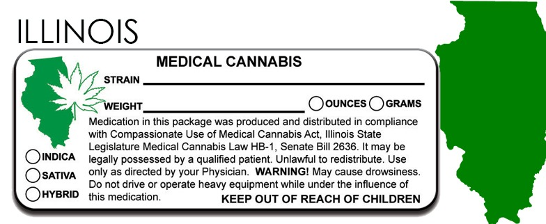 Ilinois -State Law-Marijuana-Packaging