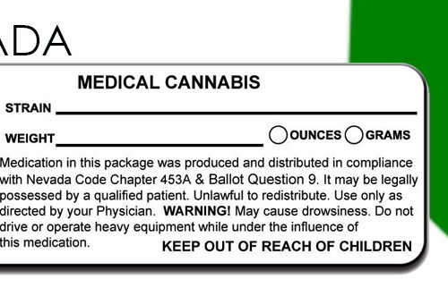 NEVADA Marijuana Packaging and Labeling State Law