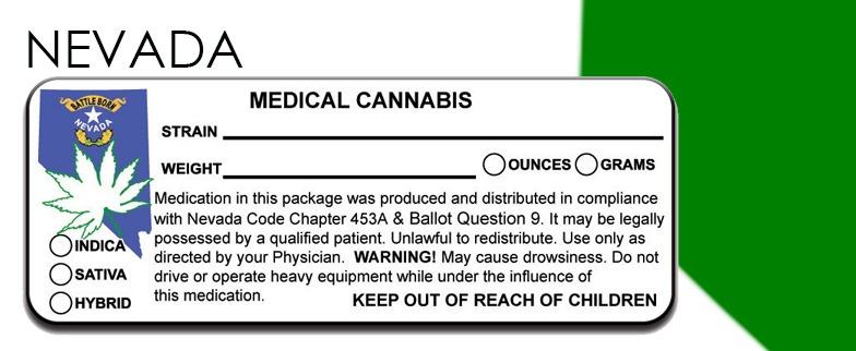 Nevada - State-Law-Marijuana-Packaging
