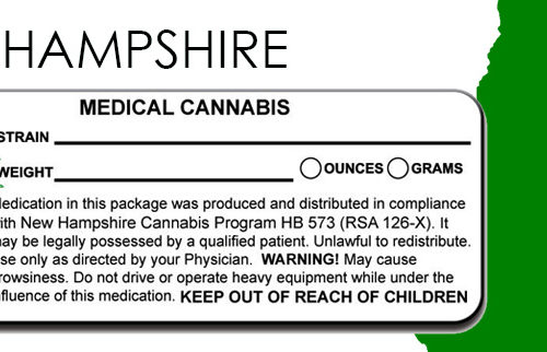 NEW HAMPSHIRE Marijuana Packaging and Labeling State Law