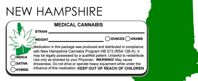 New Hampshire - State-Law-Marijuana-Packaging