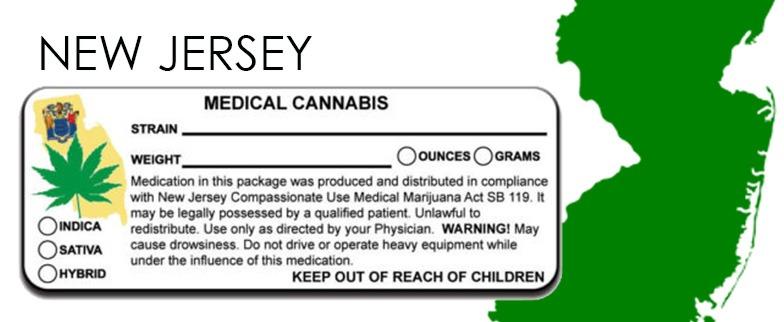 New JerseyState-Law-Marijuana-Packaging