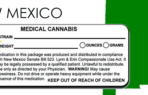 NEW MEXICO Marijuana Packaging and Labeling State Law