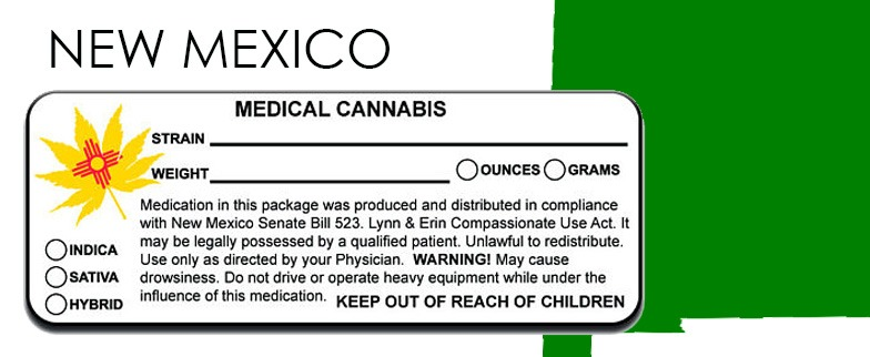 New Mexico -State-Law-Marijuana-Packaging