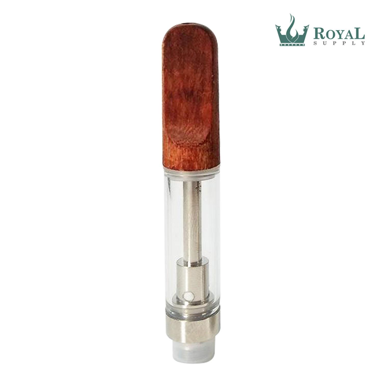 1 ML WOOD TIP RS CERAMIC CORE GLASS CARTRIDGE