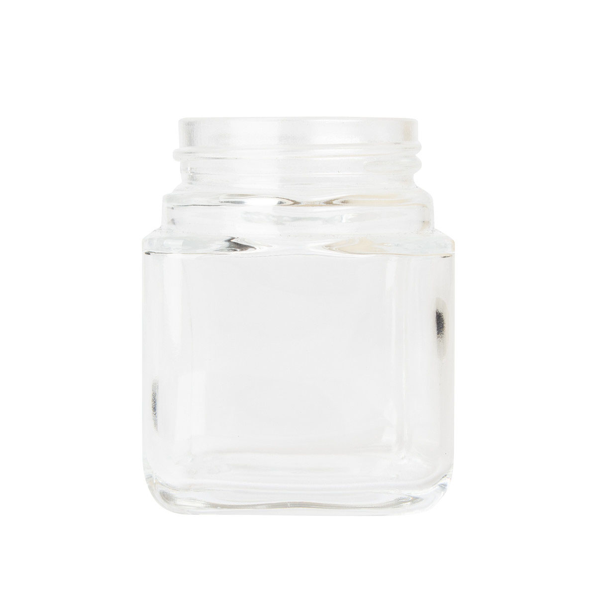 3oz Cube Reserve Glass Jar (80 Qty)