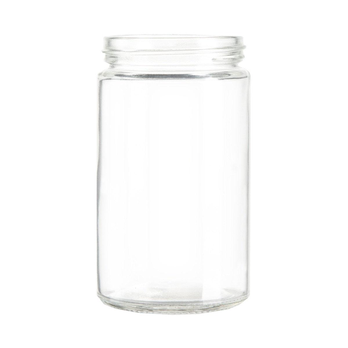 10 Oz Standard Glass Jar (72qty.)