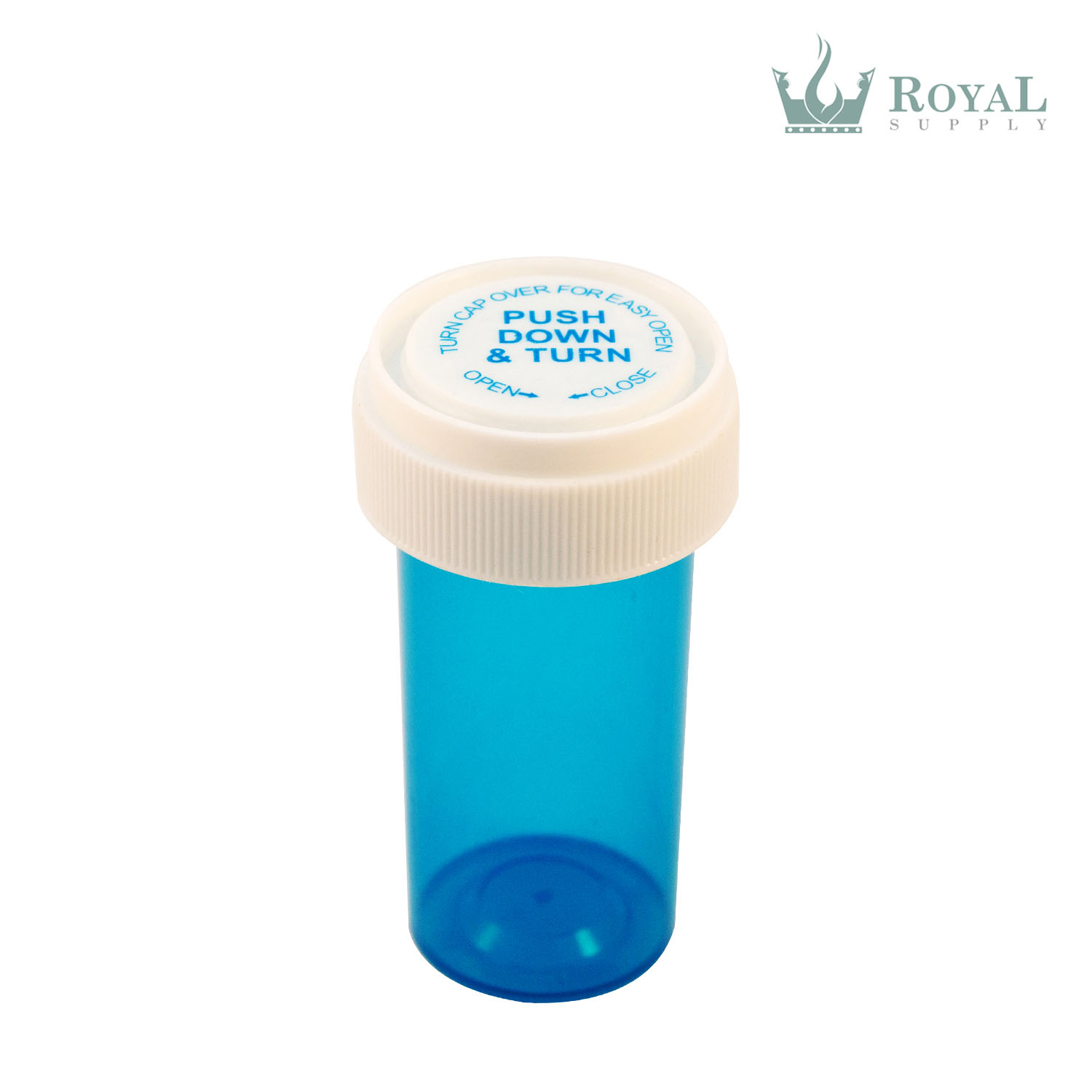8 Dram High Quality Translucent Child Resistant Reversible Cap Vials
