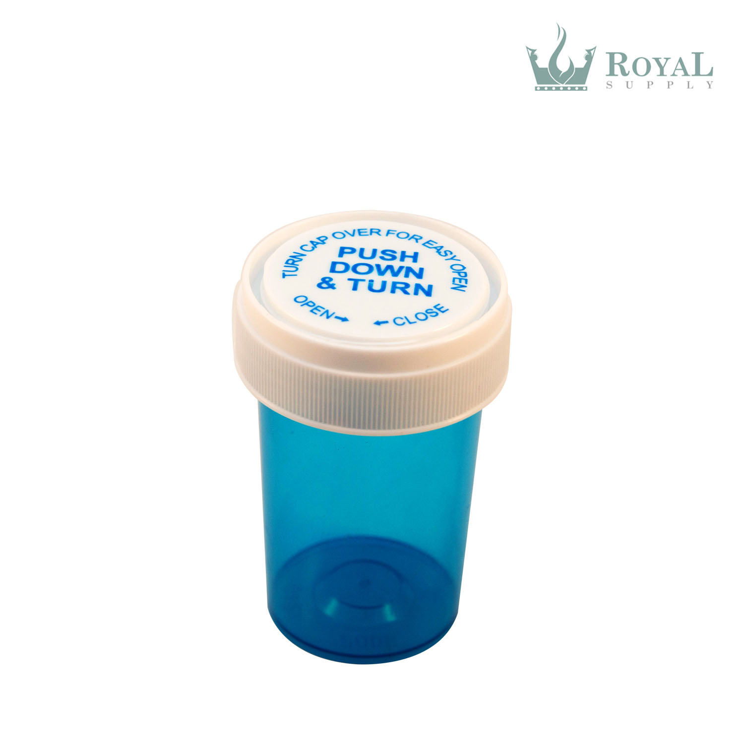 30 Dram High Quality Translucent Child Resistant Reversible Cap Vials