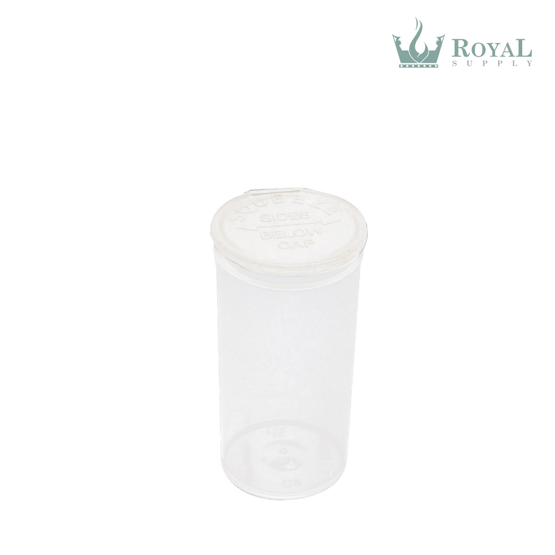 13 Dram High Quality Translucent Child Resistant Pop Top Bottles