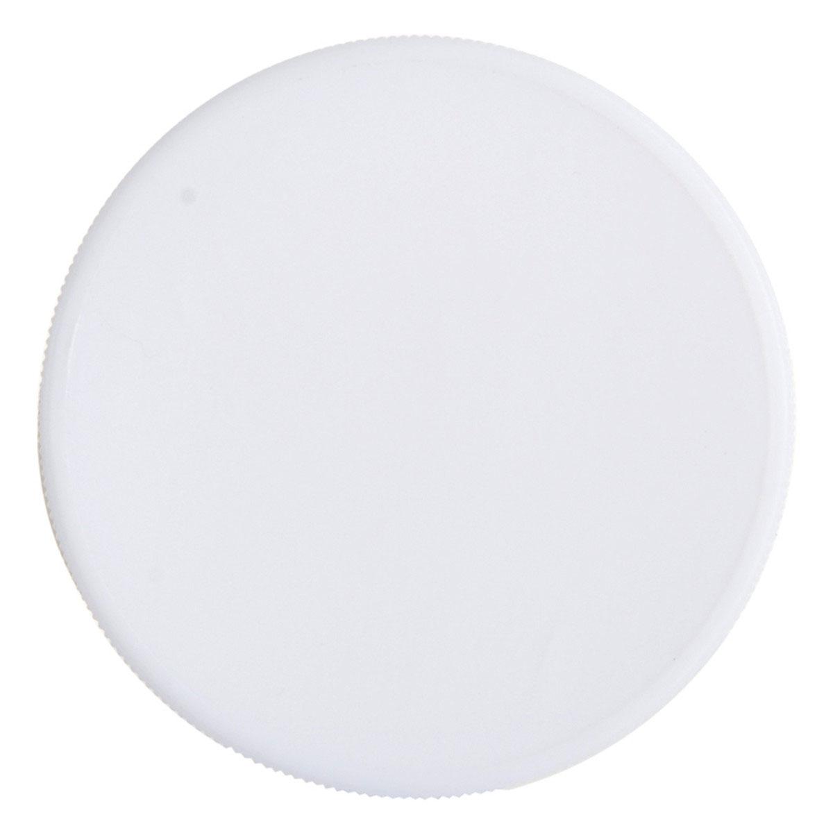 White Lid For 18oz Standard Glass Jar (48 Qty.)