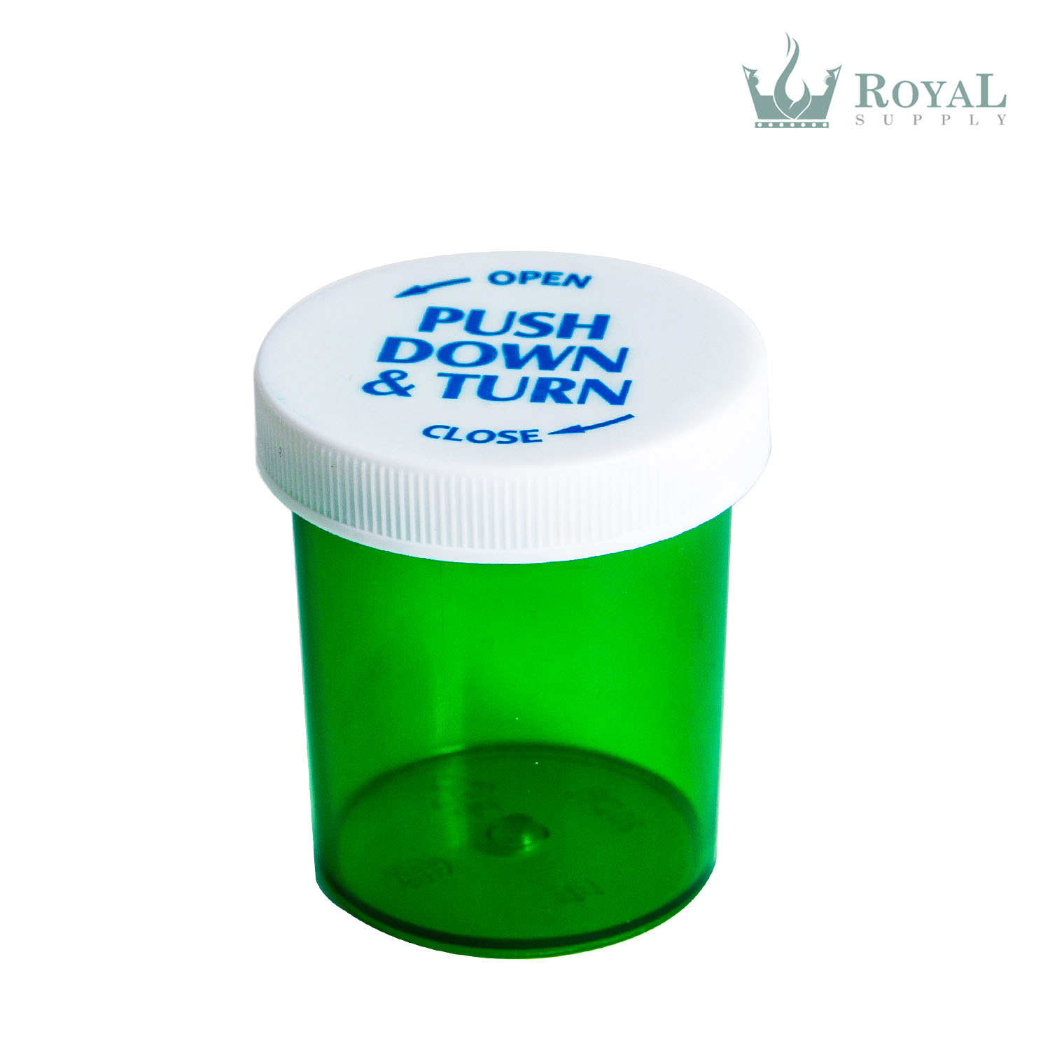 20 Dram High Quality Translucent Child Resistant Push and Turn Vials