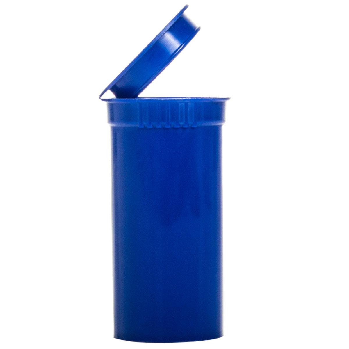 13 Dram Opaque Blueberry Child Resistant Pop Top Bottles Big Box (630 Qty.)