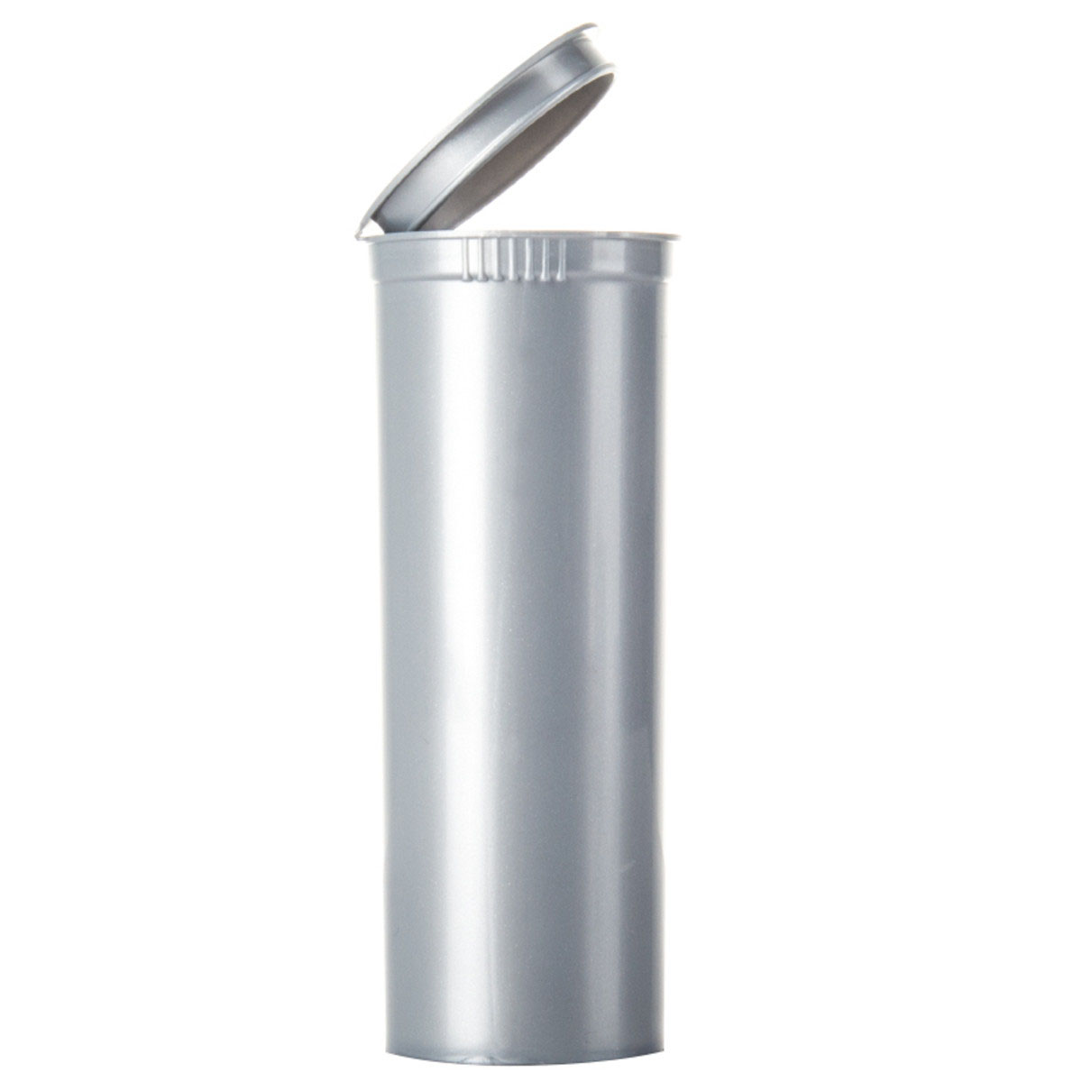 60 Dram Opaque Silver Child Resistant Pop Top Bottles Big Box (150 Qty.)