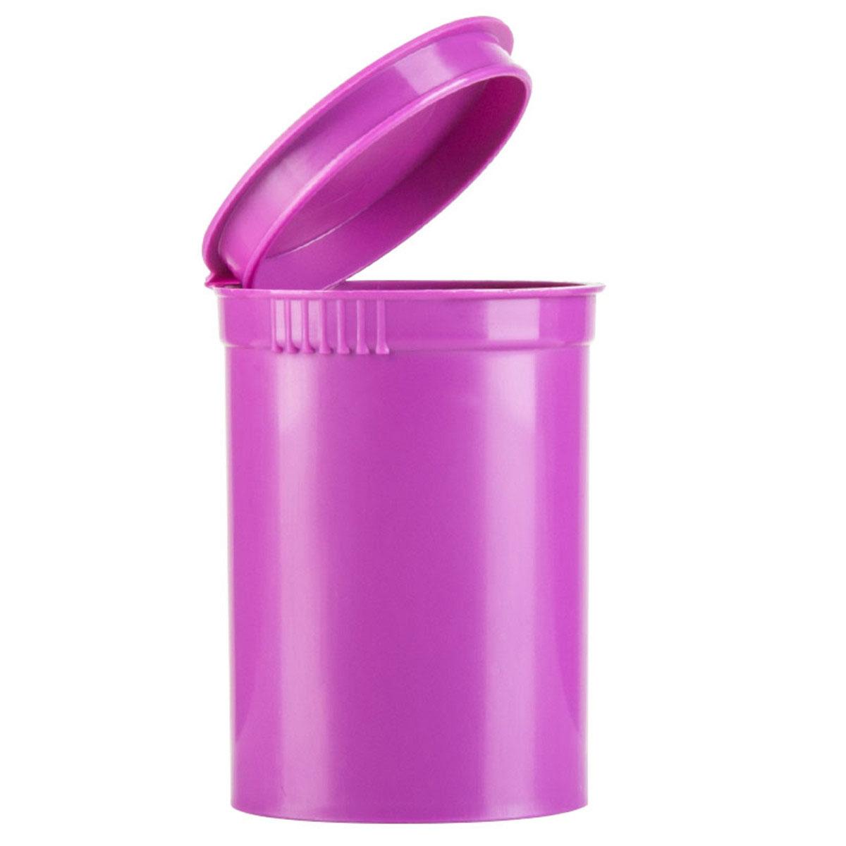 30 Dram Opaque Grape Child Resistant Pop Top Bottles Big Box (300 Qty.)