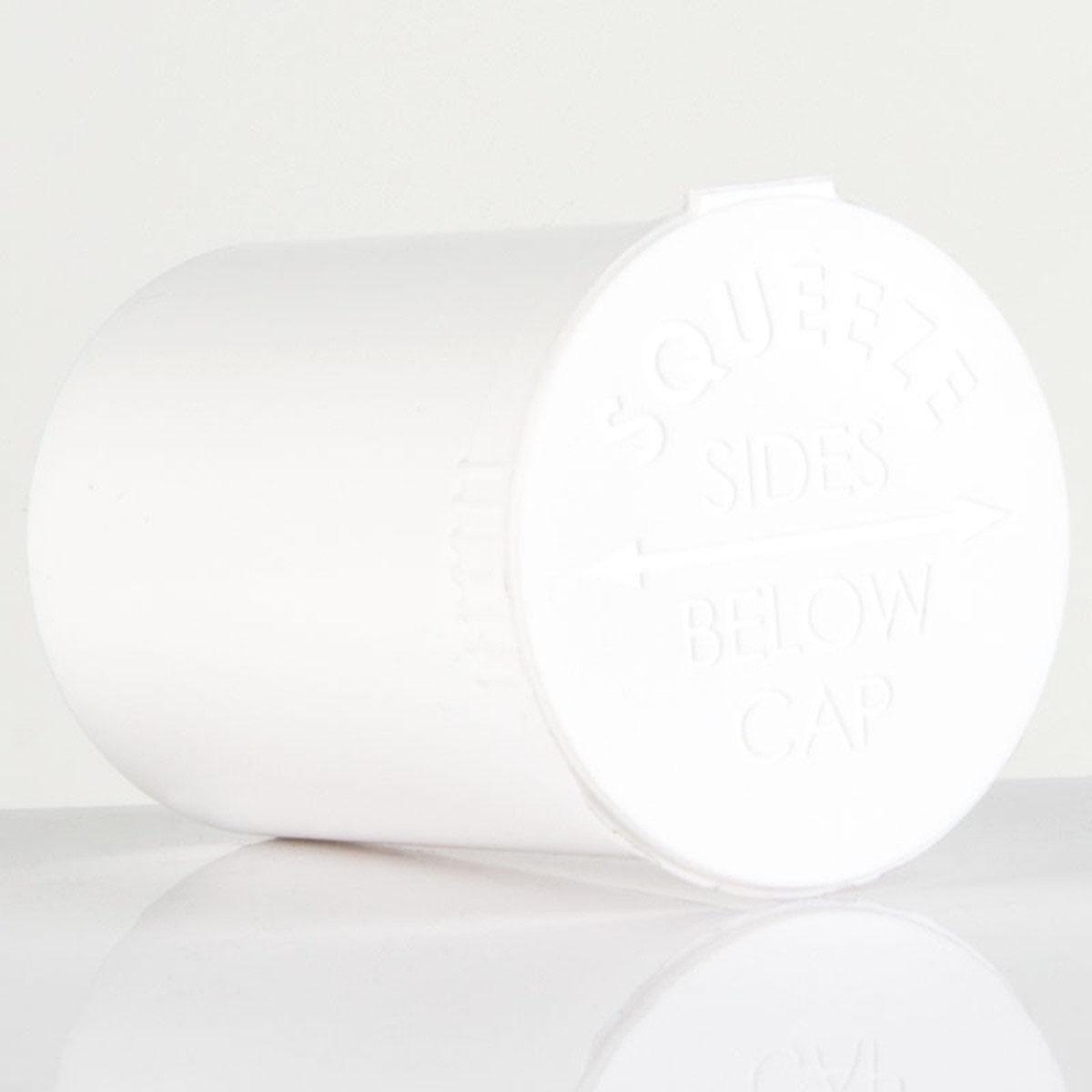 30 Dram Opaque White Child Resistant Pop Top Bottles Big Box (300 Qty.)