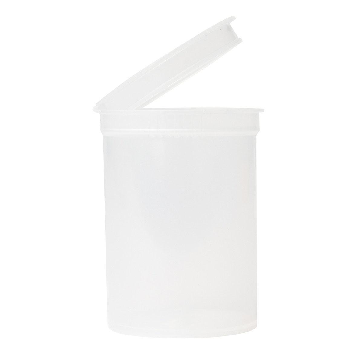 30 Dram Translucent Clear Child Resistant Pop Top Bottles Big Box (300 Qty.)
