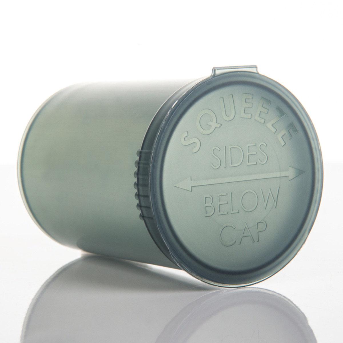 30 Dram Translucent Smoke Child Resistant Pop Top Bottles Big Box (300 Qty.)