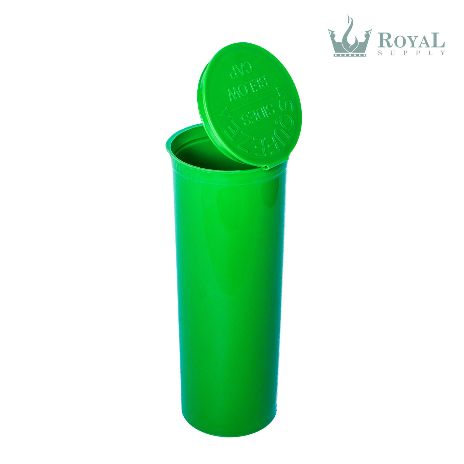 60 Dram High Quality Opaque Child Resistant Pop Top Bottles