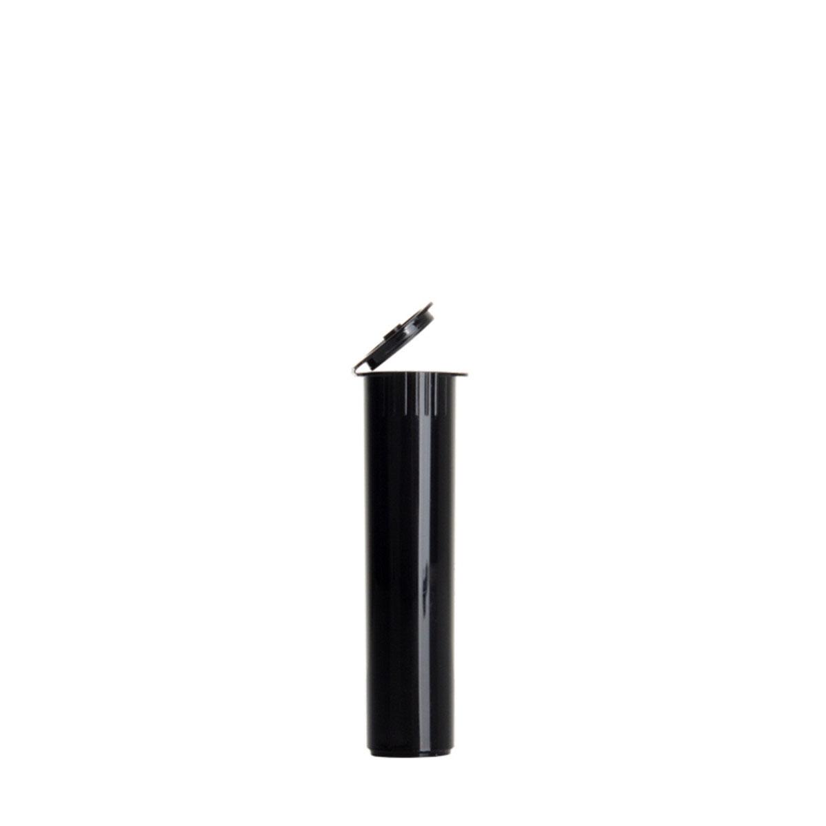 78mm Premium Opaque Child Resistant Pre-roll Tubes Black (1200 Qty.)