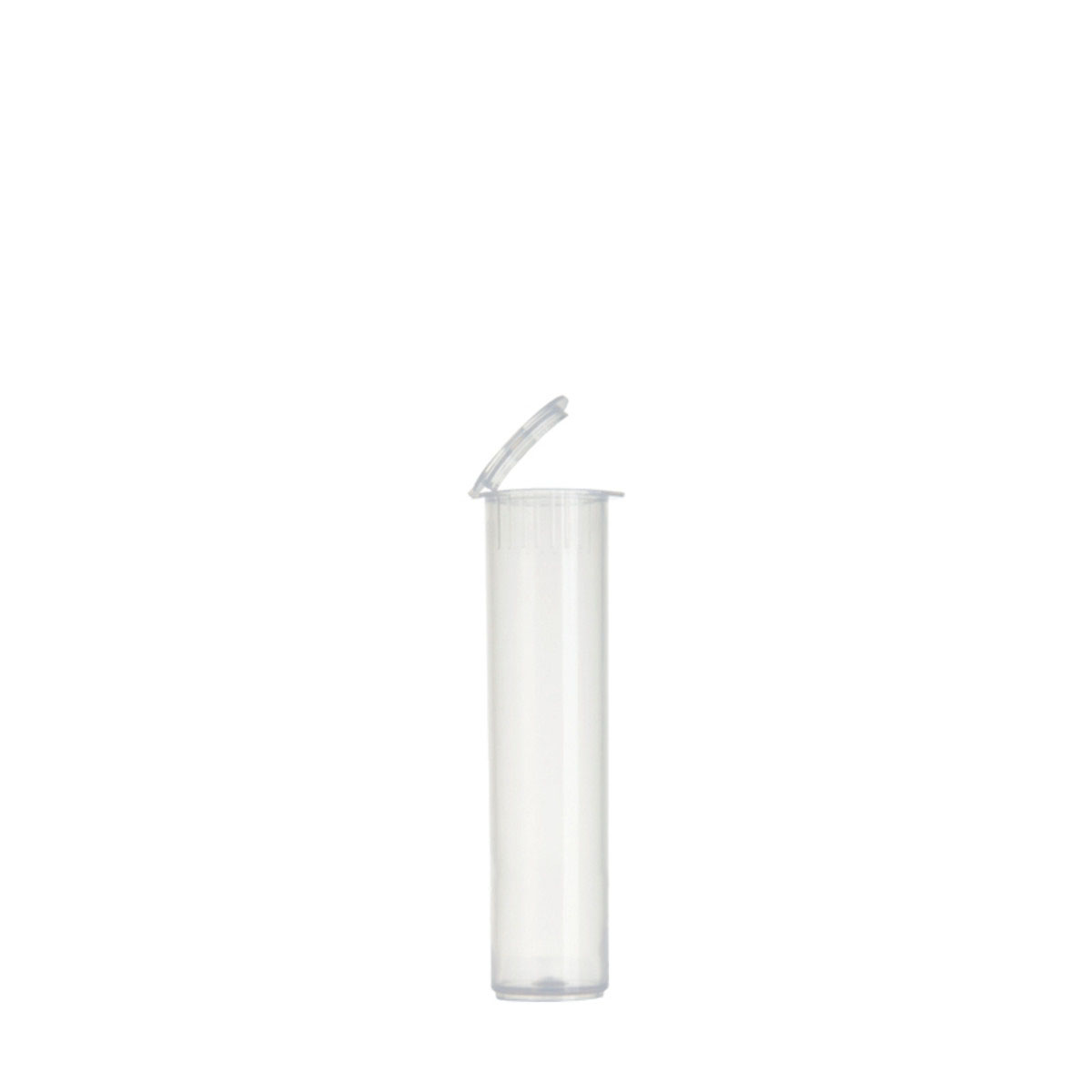 78mm Premium Translucent Child Resistant Pre-roll Tubes Clear (1200 Qty.)