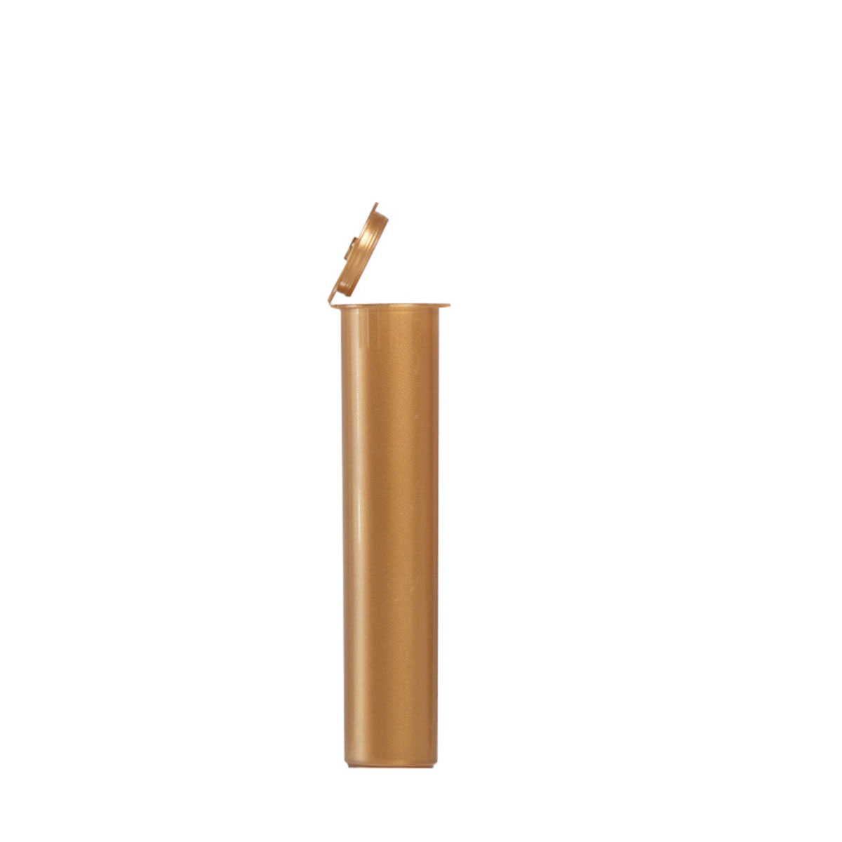 90mm Premium Opaque Child Resistant Pre-roll Tubes Gold (1000 Qty.)