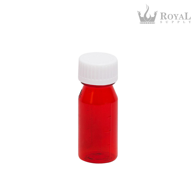 1 oz Plastic Oval Rx Vial