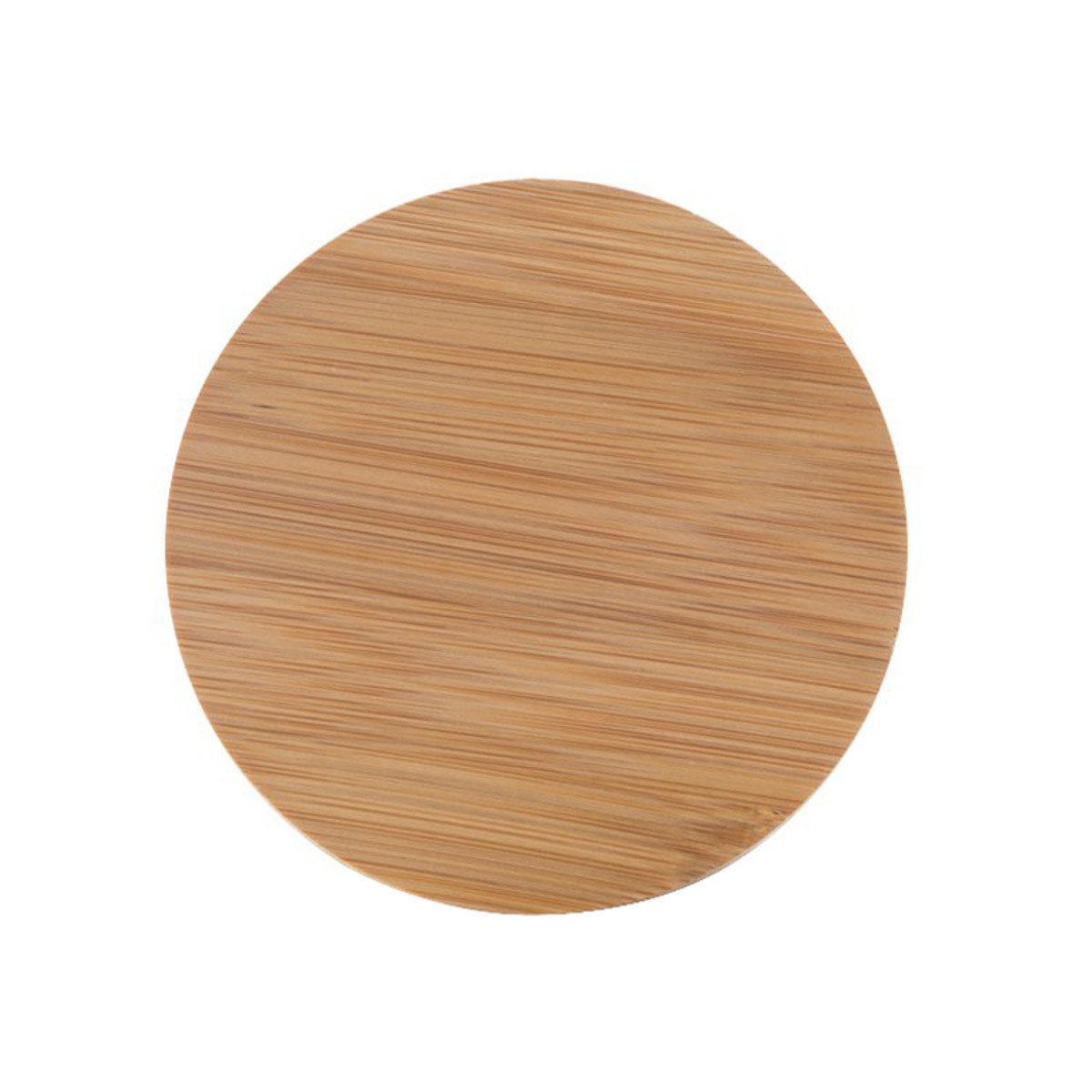 Bamboo Lid For 5oz Premium Glass Jar (100 Qty.)