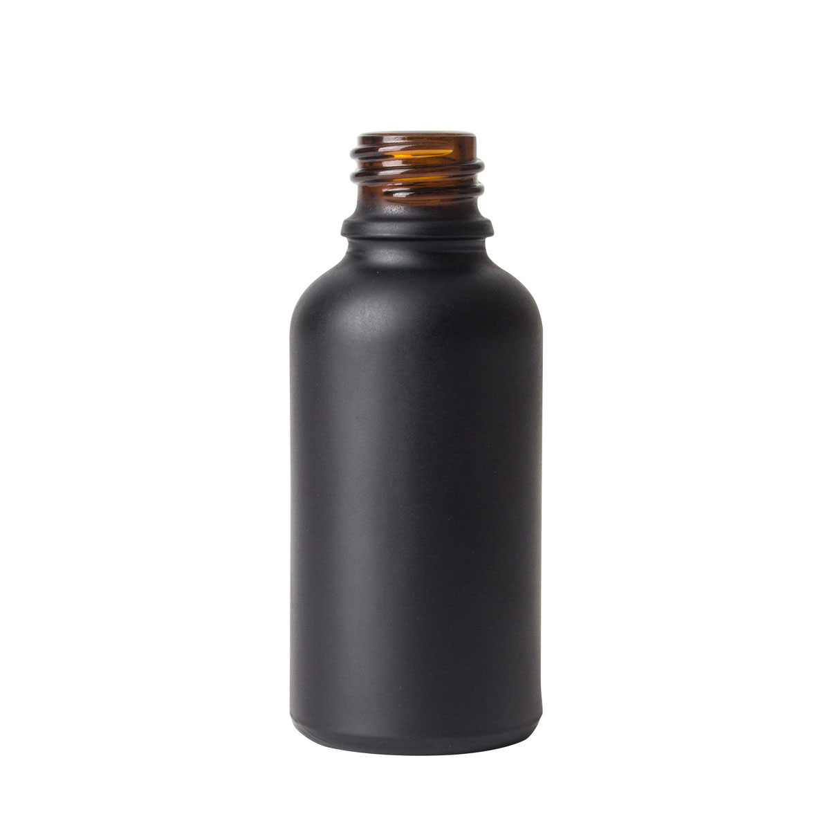 30ml Glass Dropper Bottle In Matte Black (330 Qty.)