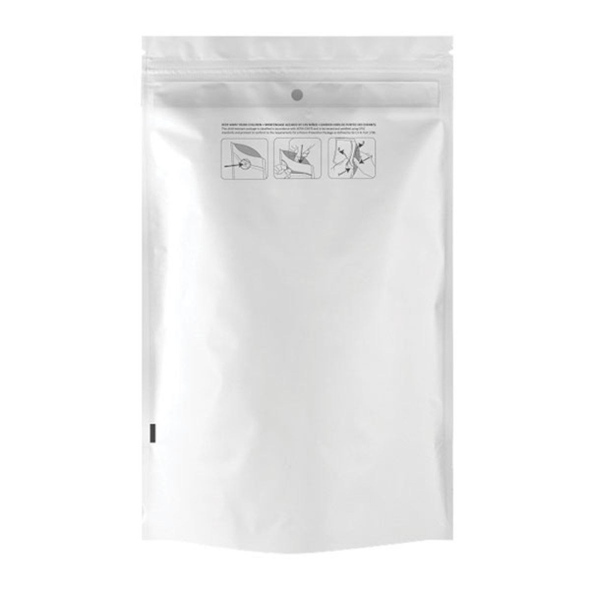 Ounce Dymapak™ Child Resistant Bag White/clear (1,000 Qty.)