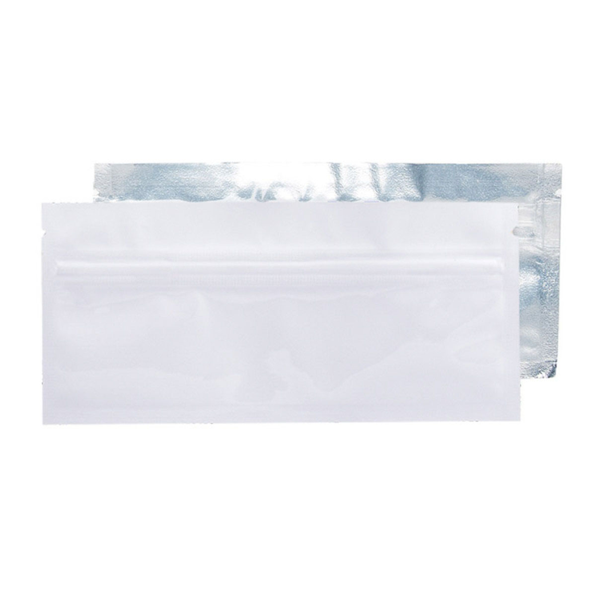 Pre-roll White/Clear Barrier Bags (100 Qty)