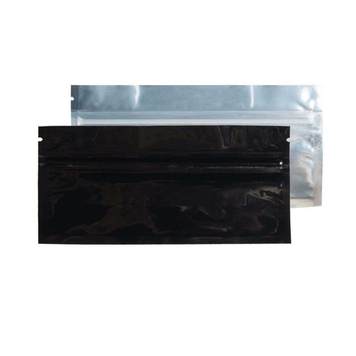 Pre-roll Black/Clear Barrier Bags (100 Qty.)