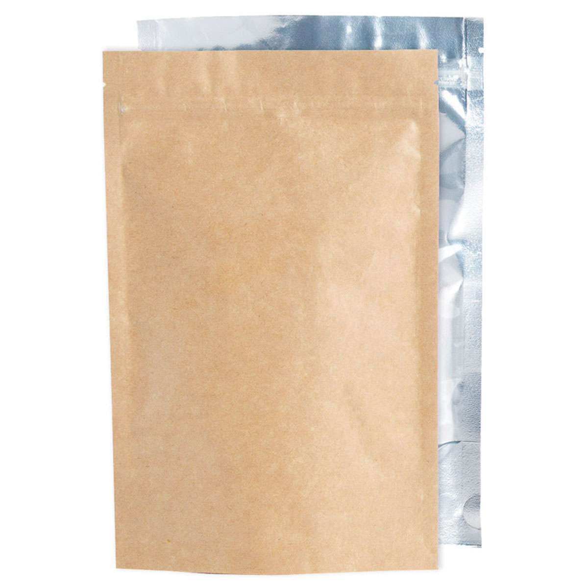 Ounce Kraft/Clear Barrier Bags (100 Qty.)
