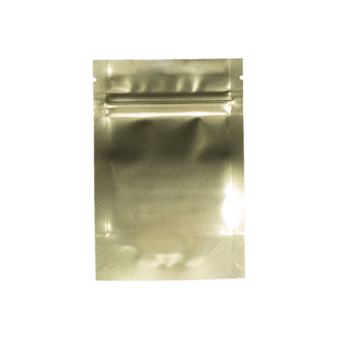 Eighth Ounce Gold/Clear Barrier Bags (100 Qty.)