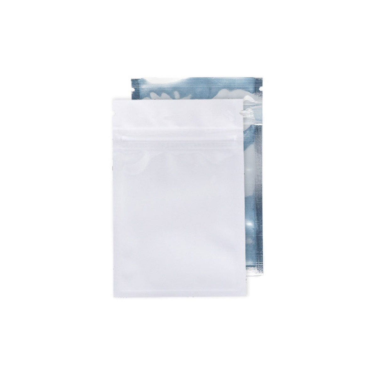Gram White/clear Barrier Bags (100 Qty.)