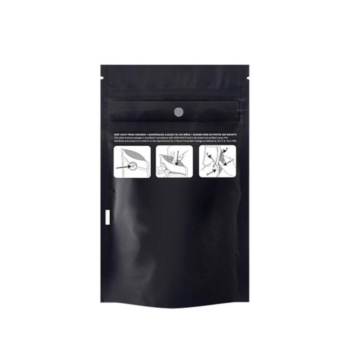 Eighth Ounce Dymapak™ Child Resistant Bag Black (2,000 Qty.)