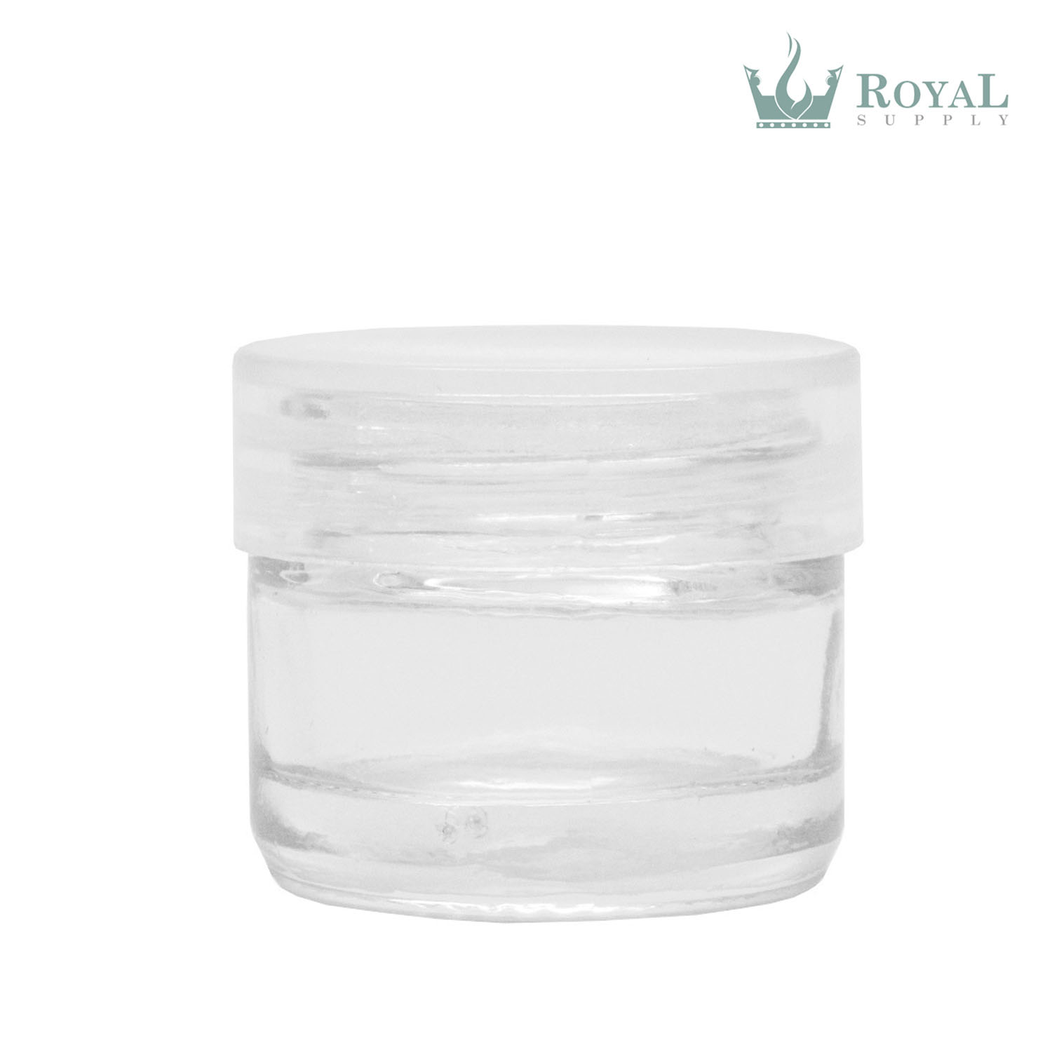 5ml Glass Concentrate Container with Screw Cap Lid