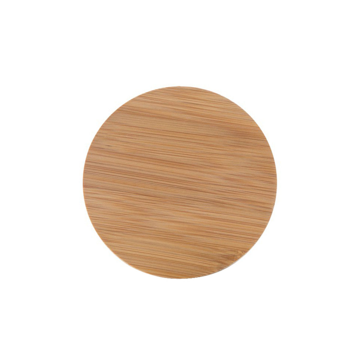 Bamboo Lid For 2.5oz Premium Glass Jar (200 Qty.)