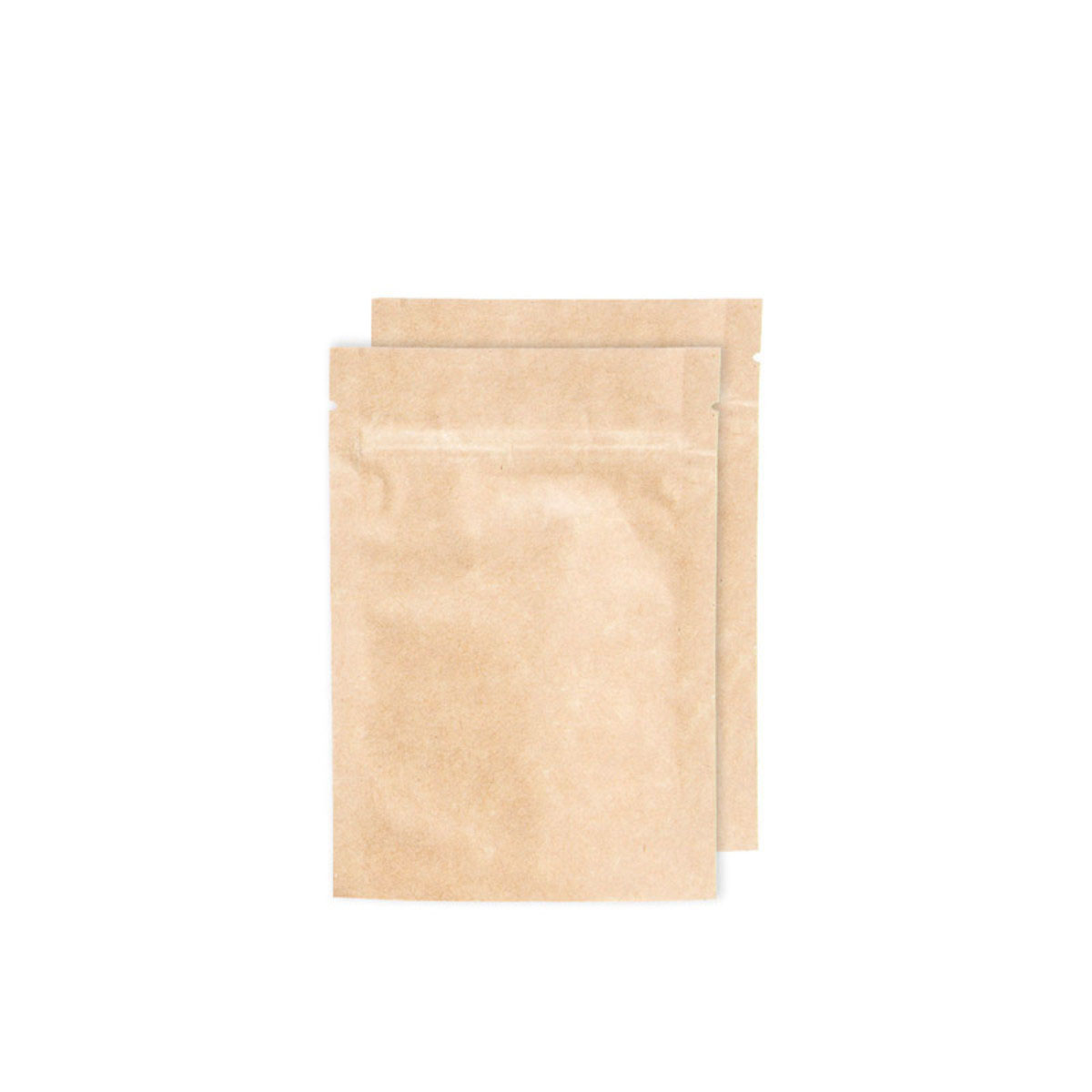 Eighth Ounce Kraft Opaque Barrier Bags (100 Qty.)