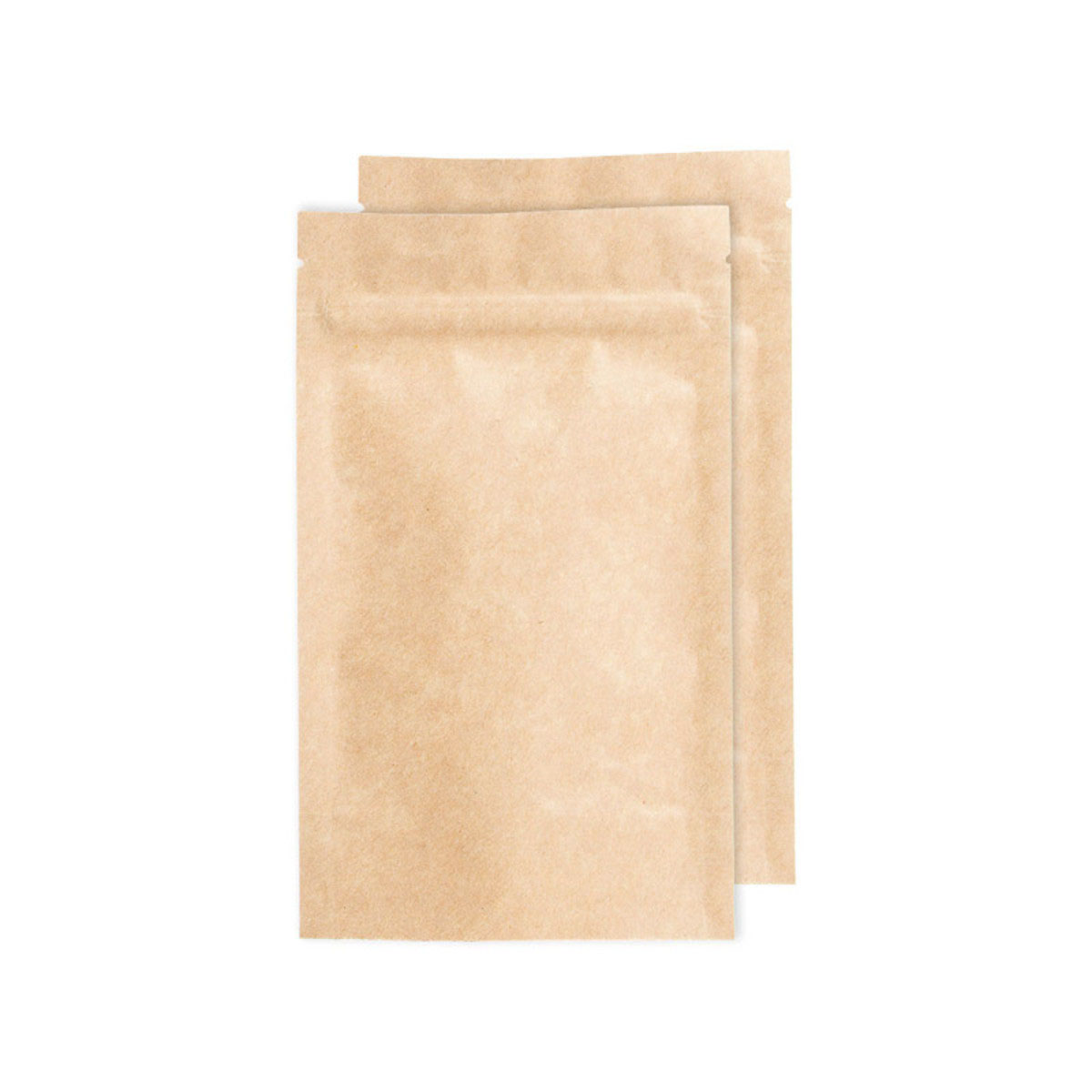 Quarter Ounce Kraft Opaque Barrier Bags (100 Qty.)