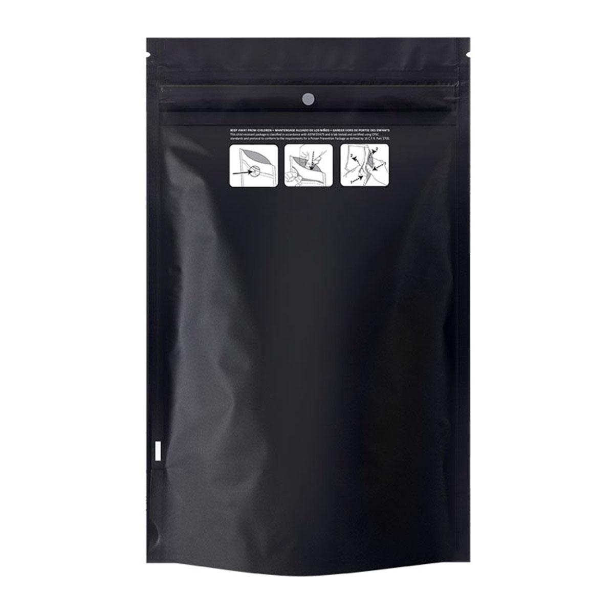 Ounce Dymapak™ Child Resistant Bag Black (1,000 Qty.)