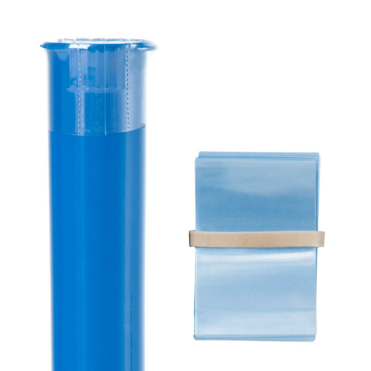 Pre-roll Tube Tamper Evident Bands (250 Qty.)