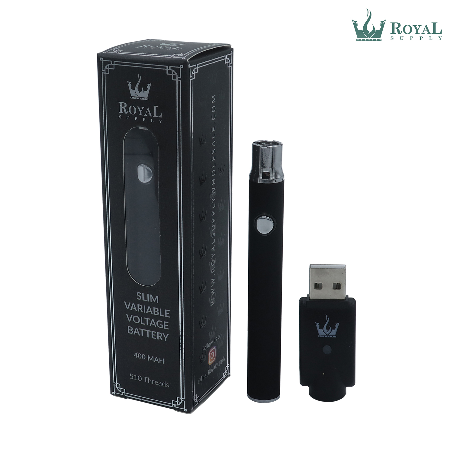 400 mAh Slim Variable Voltage Vape