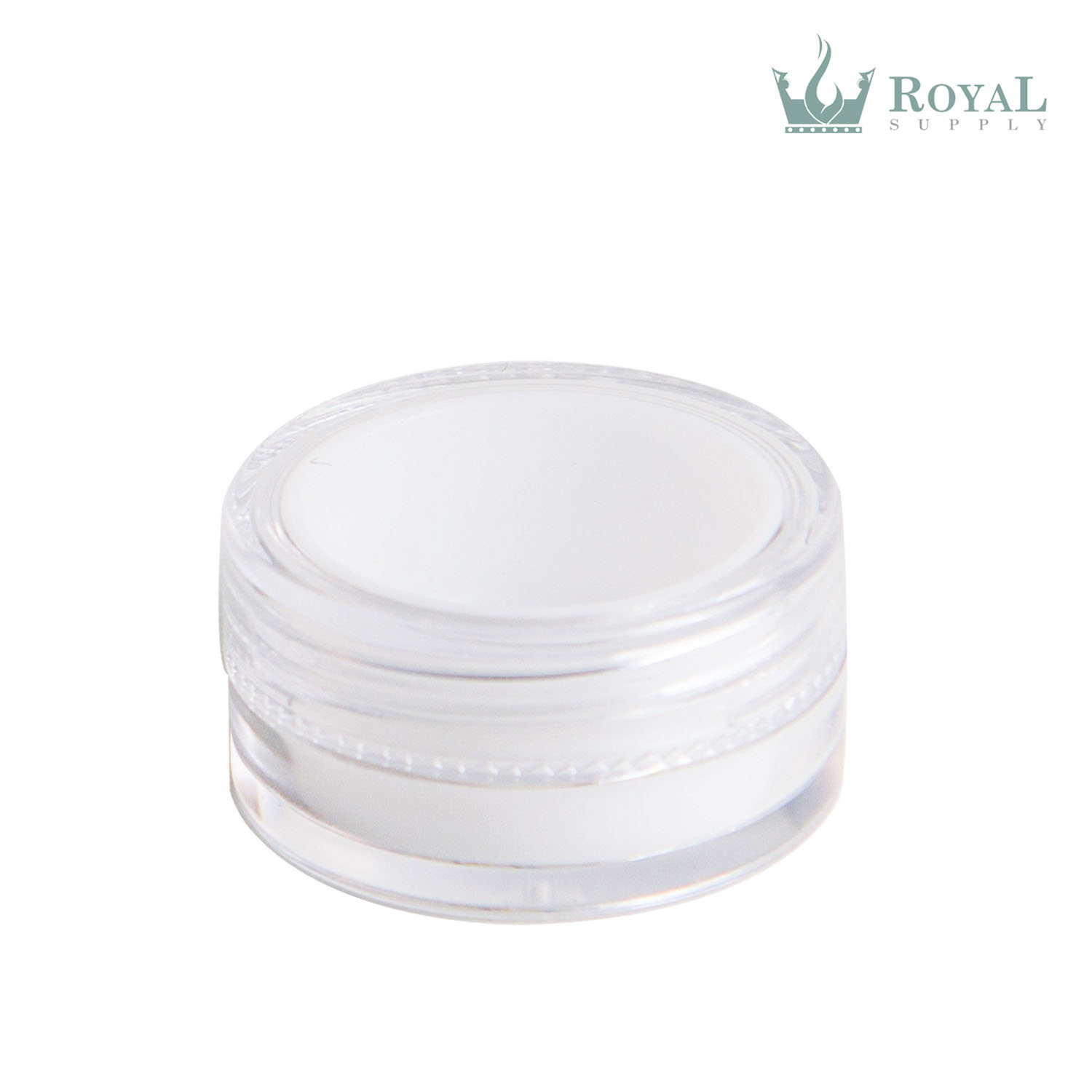 5 ml Plastic Concentrate Container with Silicone Insert