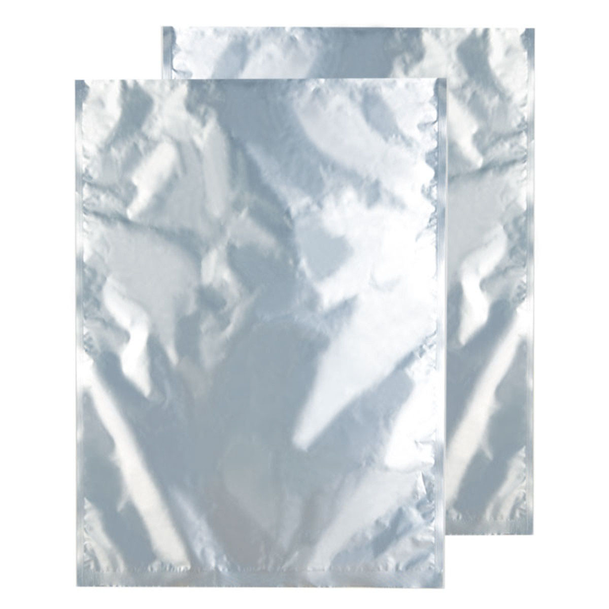 10 Pound Silver Foil Opaque Barrier Bags (10 Qty.)