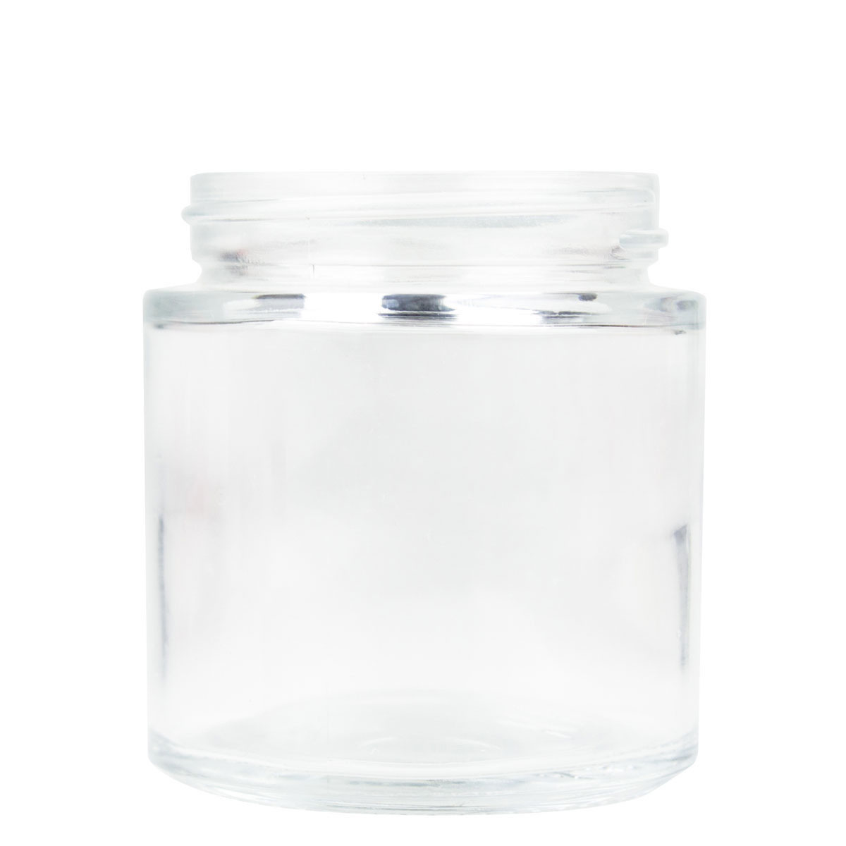 3OZ PREMIUM FLUSH GLASS JAR (QTY 108)